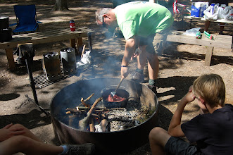 Photo: Preparing for dinner - Mr. James browning ground beef