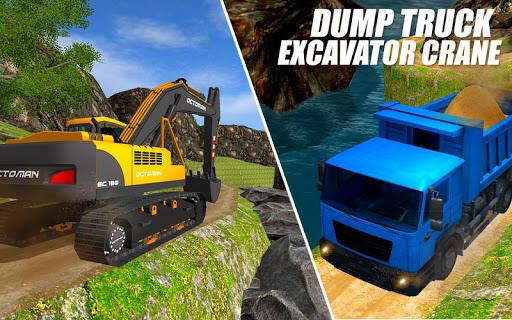 Heavy Excavator Crane: Construction City Truck 3D painmod.com screenshots 14