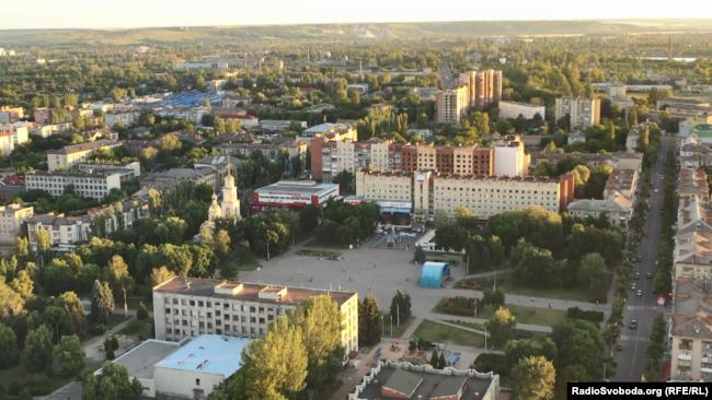 Місто Слов'янськ сьогодні
