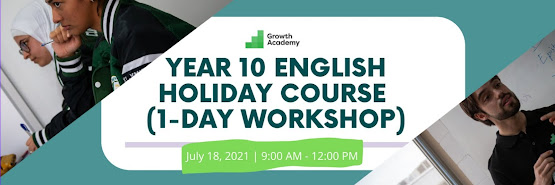 Year 10 English Holiday Course (1-day online workshop)