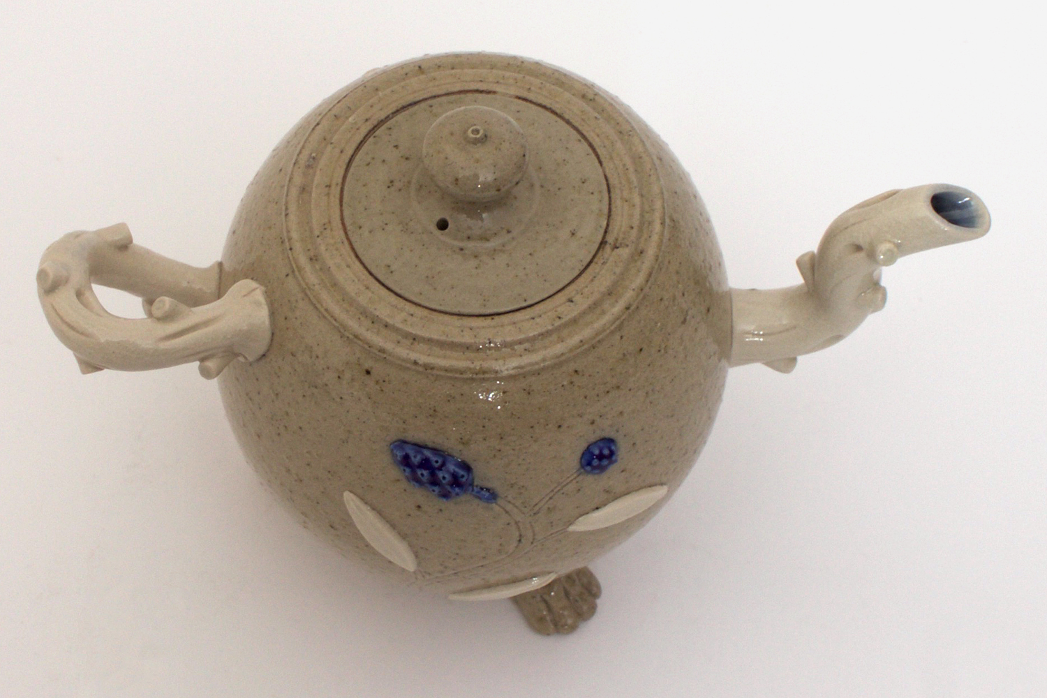 Peter Meanley Ceramic Tea Pot 026