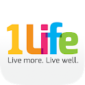 1Life Live more. Live well. icon