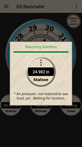 DS Barometer - Altimeter and Weather Information  screenshots 5