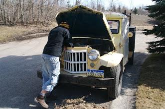Photo: Anchorage - Piter's car