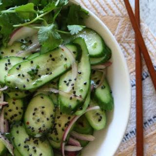 Asian Cucumber Salad.