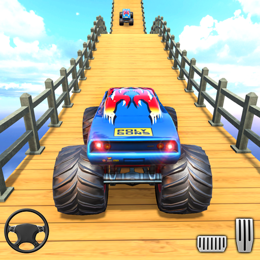 Mountain Climb Stunt: Off road Car Games