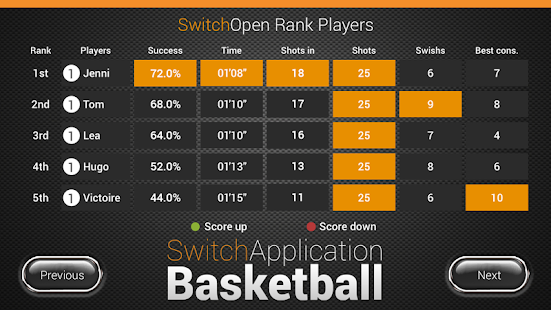 SwitchApplication Basketball- screenshot thumbnail