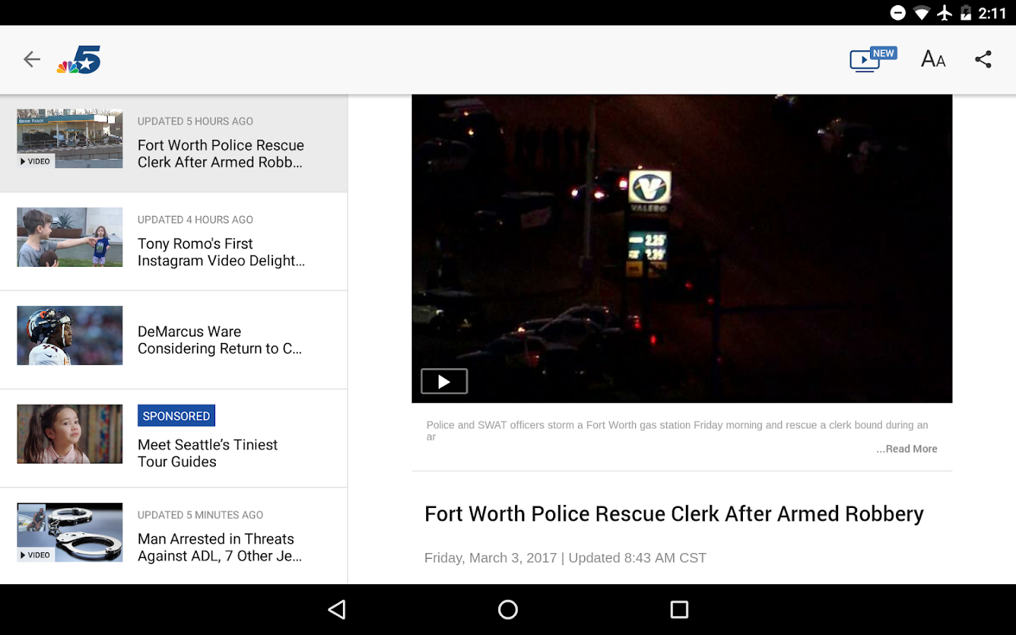 NBC 5 Dallas-Fort Worth- screenshot
