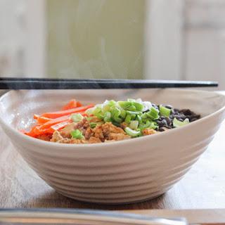 Japanese Miso Tofu Bowl.