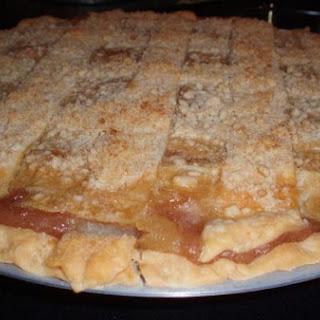 Honey Crisp Crunch Top Apple Pie