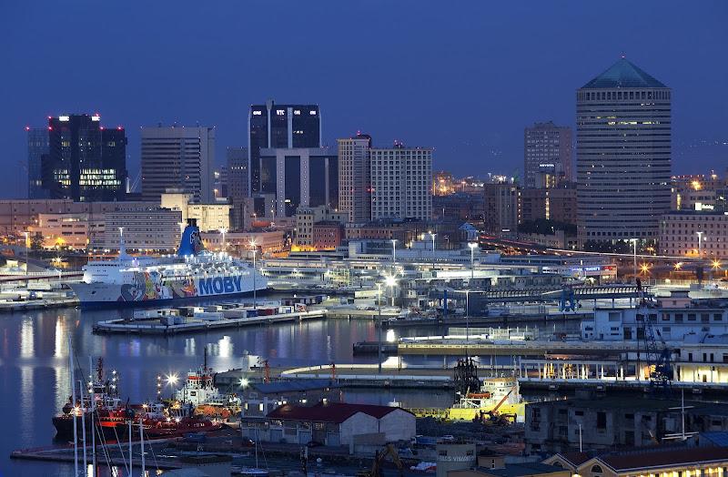 Ora blu sul porto di Ko_ala