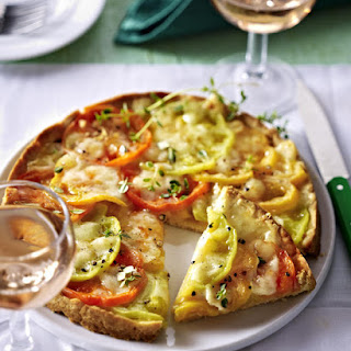 Tomato and Cheese Tart.