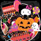 Happy Halloween Kitty Theme icon