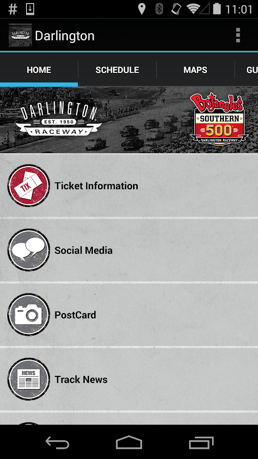 Darlington Raceway- screenshot