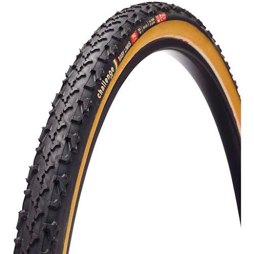 Challenge Baby Limus Pro Tire: Tubular, 700 x 33, 300tpi, Black/Tan
