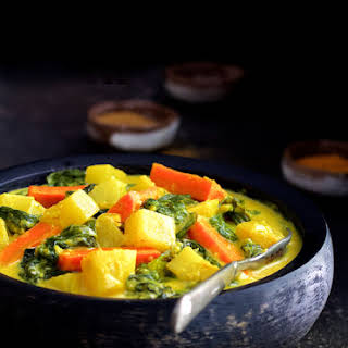 Indian Root Vegetable Curry.