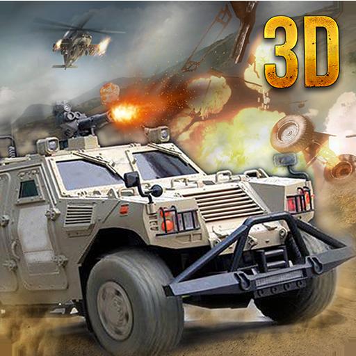 动作の陸軍戦争ジープオフロードアタック3D LOGO-記事Game
