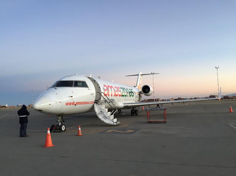 ラパス アマゾナス航空