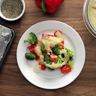 Easy Tahini-Miso Vegetables.