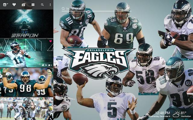 Philadelphia Eagles NFL HD Wallpaper Theme