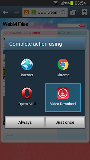 فيديو تحميل screenshot 2