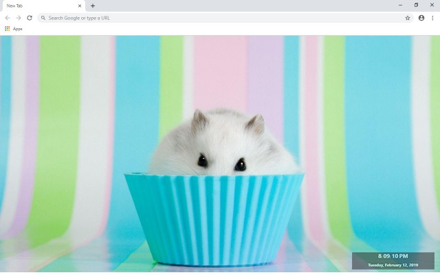 Hamster New Tab & Wallpapers Collection