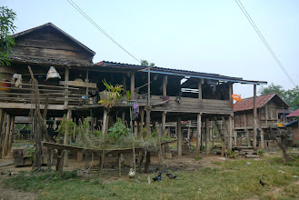 Photo: Look at some of the local village houses.