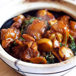 Three Cup Chicken Recipe (三杯鸡).