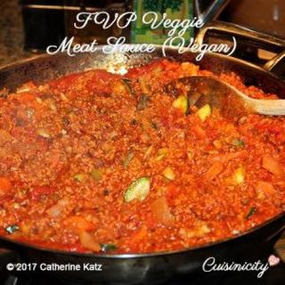 TVP Veggie Meat Sauce (Vegan).