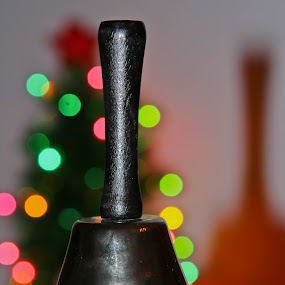 black bell by Rose Johnson - Artistic Objects Other Objects ( lights, bell, ring, christmas, pwcbells )