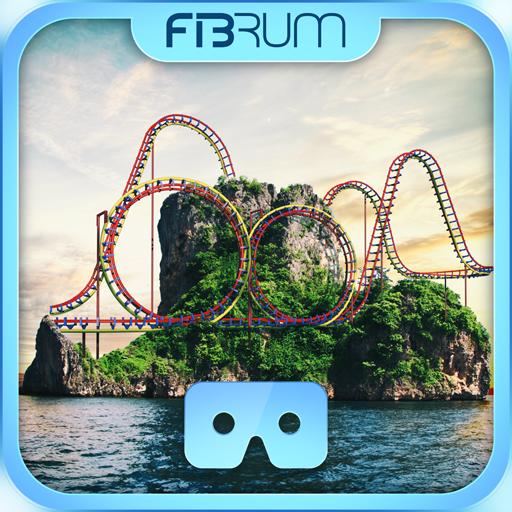 VR Roller Coaster Sunset - 360 HD simulator