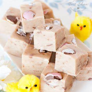 Cadbury Creme Egg Fudge.