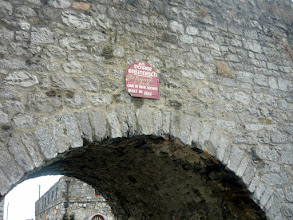 Photo: Finally in GALWAY!  Under the Spanish Arch!