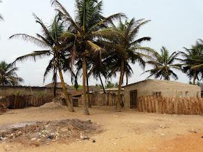 Photo: habitations des pêcheurs.