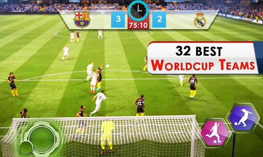 Play Football World Cup 2018: Real Soccer League 1.2 screenshots 1