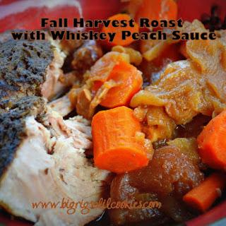 Fall Harvest Roast with Whiskey Peach Sauce
