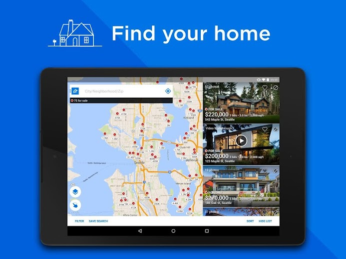Screenshot 9 for Zillow's Android app'