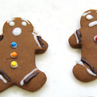 Soft Gingerbread Men Cookies
