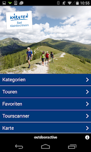 Tourenguide Bad Kleinkirchheim - screenshot thumbnail