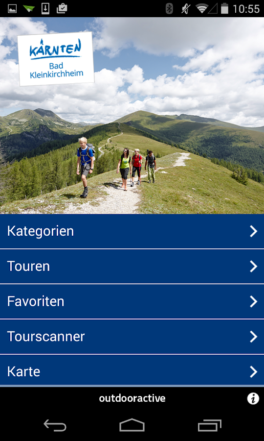 Tourenguide Bad Kleinkirchheim- screenshot