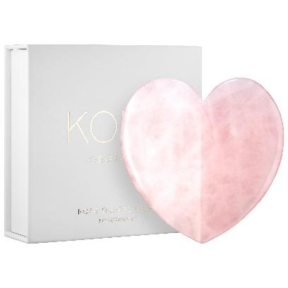 KORA Organics - Rose Quartz Heart Facial Gua Sha Clean at Sephora
