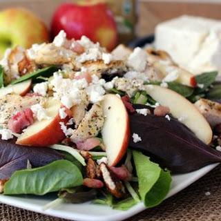 Chicken Apple Feta Salad.