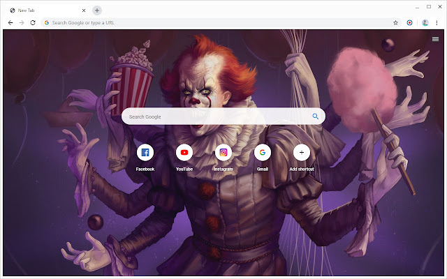 New Tab - Pennywise the Dancing Clown