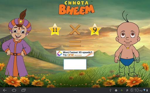 Fun Math with Chhota Bheem