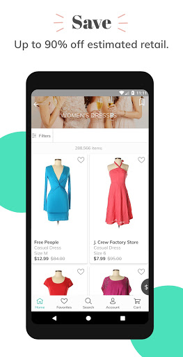 thredUP | Shop & Sell Women's & Kids' Clothing screenshot 3