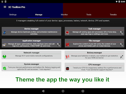 3C All-in-One Toolbox Pro v1.9.9.4 [Patched] APK 9