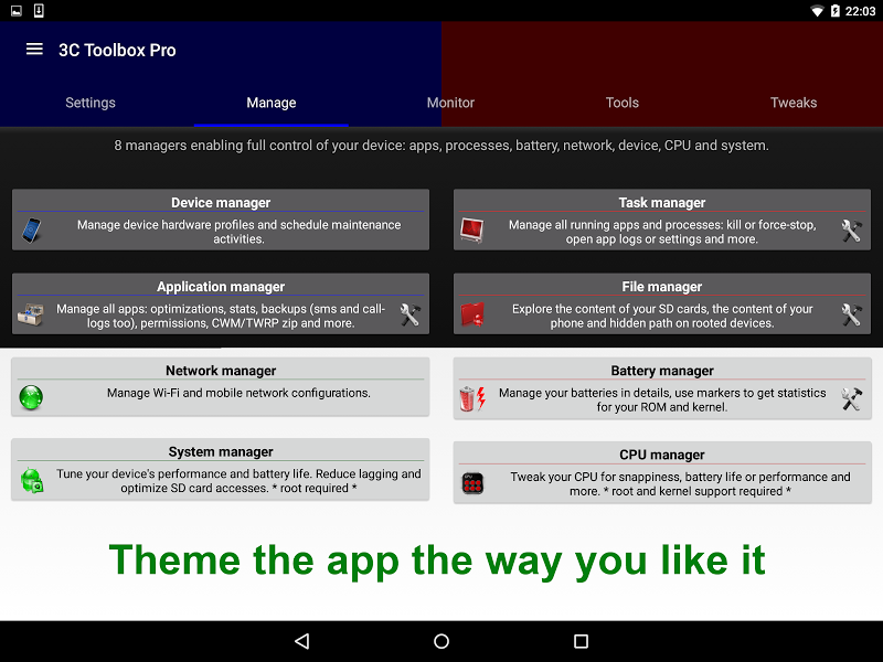 3C Toolbox Pro Screenshot 8