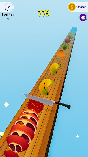 Code Triche Perfect Fruit Slicer - Chop slice APK MOD screenshots 3
