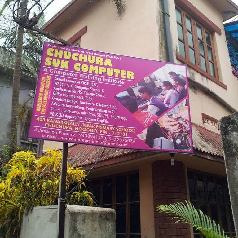 Chuchura Sun Computer - School in Hooghly