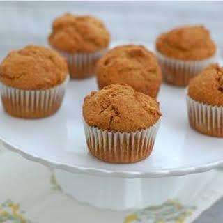 Whole Spelt Pumpkin Muffins.